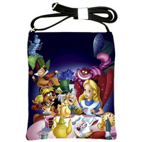 Alice in Wonderland Cross body bag by Totalchaosbootique on Etsy