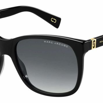 Marc Jacobs - Marc 337 S Black Sunglasses / Dark Gray Gradient Lenses