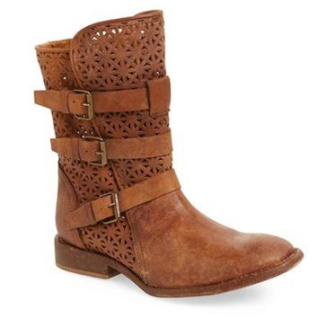 Matisse National Cognac Biker Boot