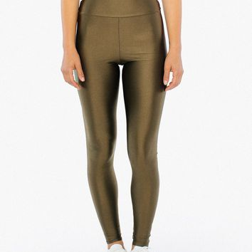 Nylon Tricot High Waist Legging | American Apparel