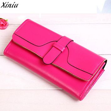 Women's Handbags Long Purse Money Bag Hot Sale Large Capacity Leather Clutch Checkbook Wallet Coin Card Holder Purse For Women