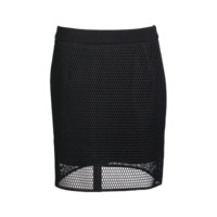 Mesh Fitted Skirt