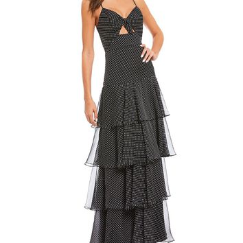 Jill Jill Stuart Tiered Printed Gown | Dillards