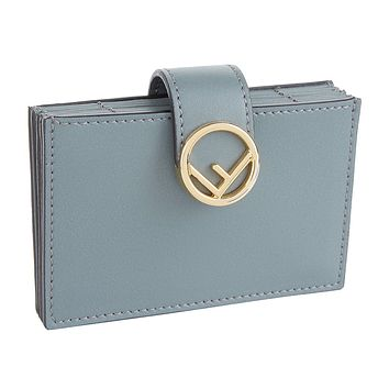 Fendi F Logo Card Case