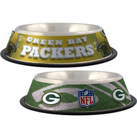 Green Bay Packers Stainless Dog Bowl