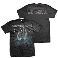 Counterparts: The Current Will Carry Us T-Shirt