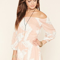 Reverse Off-the-Shoulder Romper