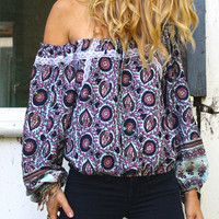 Anjuli Crop Sky Daydreamer - Arnhem Clothing