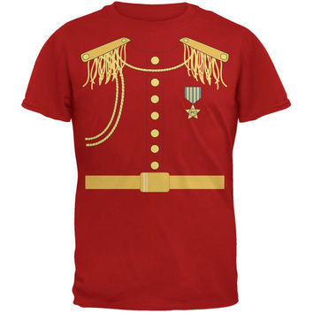 Halloween Prince Charming Costume Red Adult T-Shirt