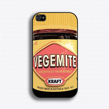 $17.99 Vegemite iPhone 4 Case iPhone 4s Case by iCaseSeraSera