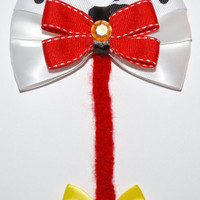 Jessie Hair Bow by MickeyWaffles on Etsy