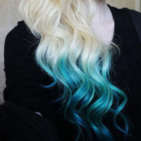 Temporary Hair Color - Dip Dye, PICK A COLOR