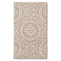 Threshold Tan Medallion Kitchen Rugs