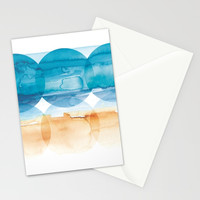 Sand and Surf Stationery Cards by noondaydesign