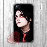 MCR Gerard Way -srwe for iPhone 6S case, iPhone 5s case, iPhone 6 case, iPhone 4S, Samsung S6 Edge