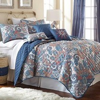 Arcadia 6-Piece Quilt Set King