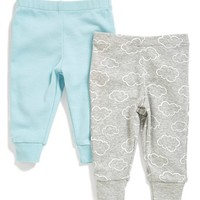 Infant Boy's Skip Hop Cotton Pants (2-Pack)