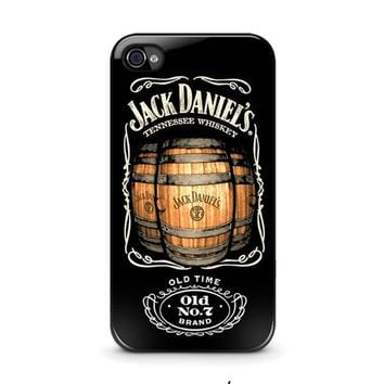 jack daniels iphone 4 4s case cover  number 1
