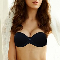 Vogue Secret Sexy Push New Up Bras Bralette Underwear Women Silicone Strapless Bra Invisible Wedding Bra Top soutien gorge BH