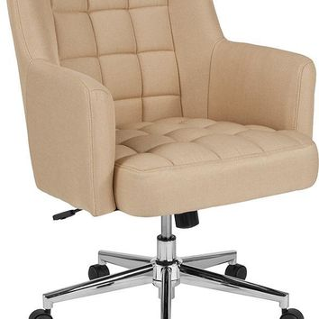 Laone Home and Office Upholstered Mid-Back Chair