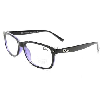 Dior Women Edgy Optical Clear Lens Fashion Brand Designer Eyeglasses Glasses