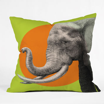 Garima Dhawan Wild 6 Throw Pillow