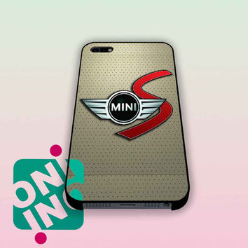 Elegant Mini Cooper Logo iPhone Case Cover | iPhone 4s | iPhone 5s | iPhone 5c | iPhone 6 | iPhone 6 Plus | Samsung Galaxy S3 | Samsung Galaxy S4 | Samsung Galaxy S5