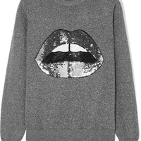 Markus Lupfer - Mia sequined Lurex and cotton-blend sweater