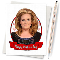 Funny Mothers Day - Adele Card - Adele Hello - Hello Its Me - Mothers Day Card - Funny Mom Card - Greeting Card - Mothers Day Gift - Mom Day