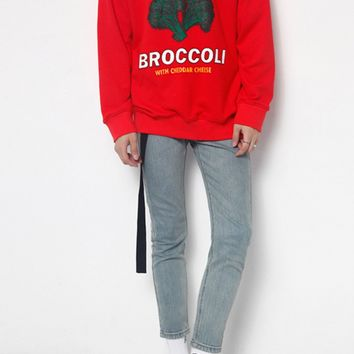 Super Broccoli/Super Corn Sweatshirt | 4 Colors