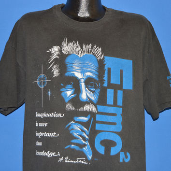 90s Albert Einstein National Atomic Museum t-shirt Extra Large