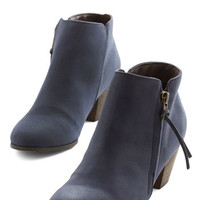 Chelsea Crew Urban Here, There, and Everywhere Bootie in Navy