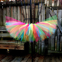 Ailyn Tutu - Rainbow / Rave Tutu - Turquoise, Green, Yellow, Orange, Pink - Available in Infant, Toddlers, Girls, Teenager and Adult Sizes