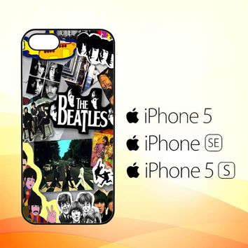 the beatles quotes Y0870  iPhone 5|5S|SE Case