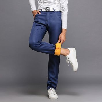 Casual Men's Fashion Winter Slim Men Pants [264173322269]