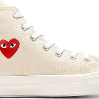 Off-White Heart Logo Converse Edition High-Top Sneakers