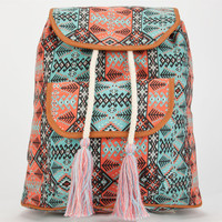 Tassel Time Backpack Blue Combo One Size For Women 25651024901