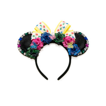 Flora Fauna Merryweather Disney Ears Headband, Mouse Ears, Aurora Dress, Aurora Costume, Sleeping Beauty Crown, Disney Bound, Disneyland