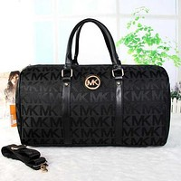 Perfect MK Women Travel Bag Leather Satchel Handbag Shoulder Bag