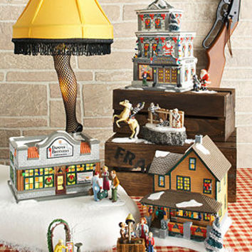 department 56 collectible figurines a christmas story village collection christmas - A Christmas Story Village