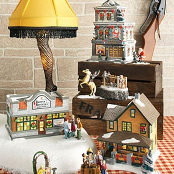 Department 56 Collectible Figurines, A Christmas Story Village Collection - Christmas Villages - Holiday Lane - Macy's