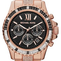 Michael Kors 'Everest' Baguette Crystal Beze