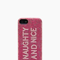 naughty nice silicone iphone 5 case