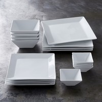 Williams Sonoma Open Kitchen Square Dinnerware Collection