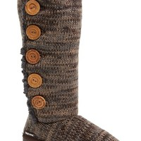Women's MUK LUKS 'Malena' Button Up Crochet Boot,