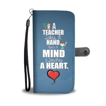 Teacher Wallet Phone Case