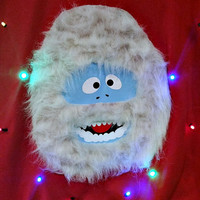 Abominable Snow Monster! - Light-Up UGLY CHRISTMAS SWEATER - Bumble