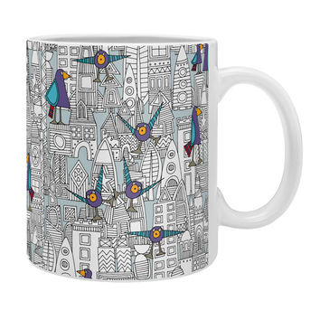 Sharon Turner Birds And Rockets Coffee Mug