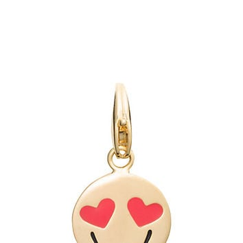 Kate Spade Smitten Emoji Charm Red Multi ONE