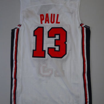 Chris Paul Dream Team USA 13 Super RARE Jersey Nba Basketball Jersey Team Usa Chris Paul New Jersey All Stitched and Sewn Any Size S - XXL